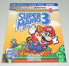 Super Mario Advance 4: Super Mario Bros 3 Strategy Guide For Game Boy Advance