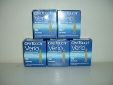 NEW-- 50 ONE TOUCH VERIO TEST STRIPS..   Exp. 2/2017.       5B