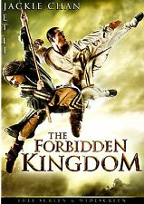 THE FORBIDDEN KINGDOM (NEW DVD) Jet Li, Jackie Chan/CLASSIC MARTIAL ARTS MOVIE