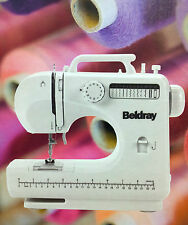 12 Stitch Sewing Machine - Sewing Bundle -  Includes 64 Piece Thread Set Beldray