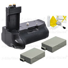 Battery Grip for Canon EOS Rebel T2i/T3i/T4i + 2X LP-E8 Batteries
