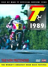 Isle of Man TT - Official Review 1989 (New DVD) The New Pretender