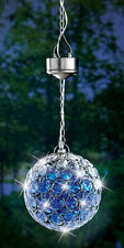 Solar Hanging Pendant Ball Light, by Collections Etc