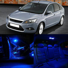 8pcs BLUE LED Backup Light Interior Package kit for Ford Focus 2008 2011