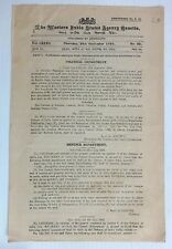 India 1944 WISA Gazette with Bicycle Price Control Order, etc.