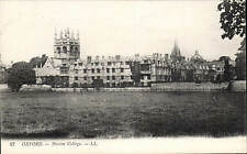 Oxford. Merton College # 27 by LL / Levy. Black & White.
