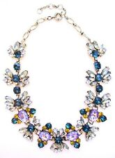UNIQUE STUNNING Luxe Vintage Crystal STATEMENT BUBBLE NECKLACE High Quality
