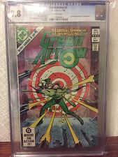 GREEN ARROW #1 Comic CGC Graded - WHITE Pages 9.8