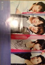 DBSK TVXQ 2008 Double Sided Poster