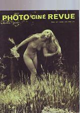photo cine revue avril 1970