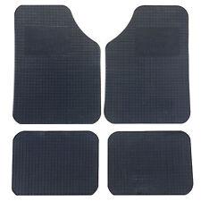 Noir caoutchouc universel tapis s'adapte à toutes les voitures-taille unique