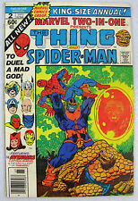 Marvel Two-In-One Annual #2 Spider-Man Death of Thanos & End of Thanos Saga! KEY