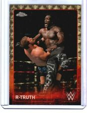 1/1 WWE R-Truth #53 2015 Topps Chrome SUPERFRACTOR Parallel Card SN 1 of 1