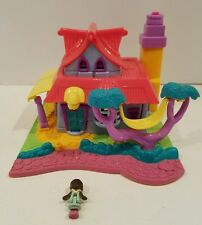 Vintage 1994 Bluebird Polly Pocket Light Up Kitty House With 1 Doll