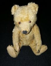 Antique1906 Early German Mohair Steiff Teddy Bear Boot-button eyes Excelsior 9""