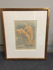 Henry Moore Signed Lithograph