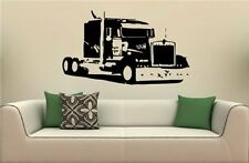 Semi Truck Eighteen Wheeler Peterbilt Wall Art Sticker Decal 6457