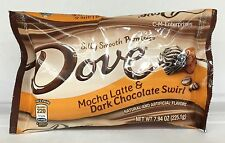 Dove Mocha Latte & Dark Chocolate Swirl Silky Smooth Promises Candy 7.94 oz