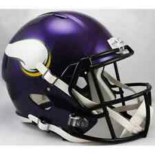 MINNESOTA VIKINGS NFL Riddell SPEED Full Size Replica Football Helmet