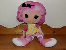 "Jumbo 28"" JEWEL SPARKLES  Plush Lalaloopsy PILLOWTIME PALS Doll Best Friend"