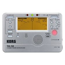 Korg TM50SL Tuner & Metronome for Guitar & Bass Like having MA-1 & CA-1 together