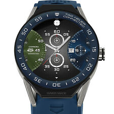 TAG Heuer Connected Modular 45 Smart Watch Blue SBF8A8012.11FT6077 New Complete