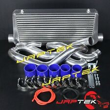 Complete HD Front Mount Intercooler Kit For Nissan S14 S14A S15 200sx SR20 FMIC