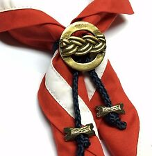 Boy Scout Woggle Scout Knot with Beads Neckerchief Slide Item No.17-2