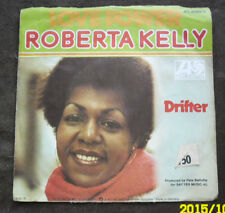 Atlantic 7 inch Single LOVE POWER von ROBERTA KELLY (1975)