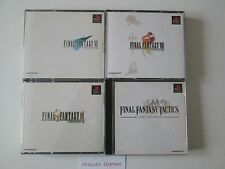 Sony Playstation  (NTSC-J) Final Fantasy 7,8,9 and Tactics Games (Japan Import)