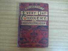 Mrs Beeton's Every Day Cookery and Housekeeping Book * very rare * c1865