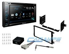 "PIONEER 6.2"" TOUCHSCREEN BLUETOOTH CAR STEREO RADIO DASH KIT INTERFACE & ANTENNA"