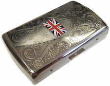 Metal Cigarette Holder Case - Tobacco Smoking Gift #10-028