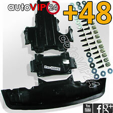 Mercedes W 210 (1993-2001) E-Class UNDER ENGINE COVER (set) new HDPE  + CLIPS