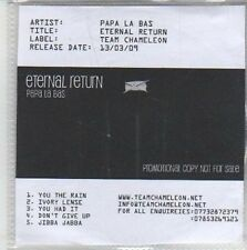 (CH647) Papa La Bas, Eternal Return - 2009 DJ CD