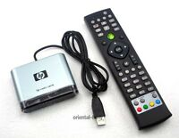 New HP MCE USB IR Receiver and Media Center remote control RC6 KIT