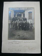 American Embassy Vienna c.1916 Signed Photograph of Diplomats & Staff