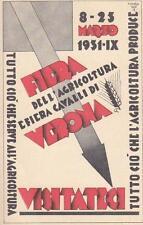 A7438) VERONA 1931, FIERA DELL'AGRICOLTURA E DEI CAVALLI.