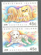 Christmas Island-Year of the Dog 1994 (386a) mnh