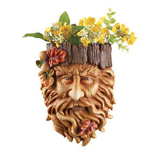 Tree Face Planter Decoration, by Collections Etc