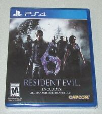 Resident Evil 6 for Playstation 4 Brand New! Factory Sealed!