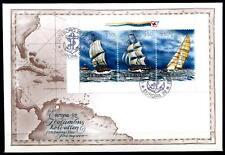Christoph Kolumbus und Segelschiffe. FDC. Schweden 1992