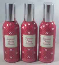(3) Bath and Body Works JAPANESE CHERRY BLOSSOM Home Room Spray Air Fresheners
