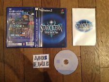 Star Ocean 3 Till the End of Time SONY Playstation PS2 JAP JP import NTSC-J