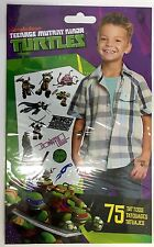 75 TMNT Teenage Mutant NInja Turtle Tattoos Party Favors Rewards Pinata Birthday