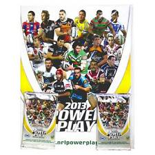 NRL 2013 RUGBY LEAGUE - Power Play Official Collector Album & Card Packs (2)