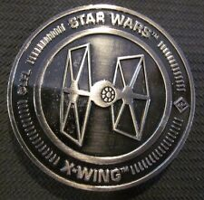 Star Wars X-Wing Miniatures Game 2016 Challenge Coin Medal TIE Fighter Symbol