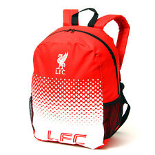 LIVERPOOL FC LARGE FADE BACKPACK RUCKSACK SCHOOL  BAG KIDS ADULT NEW XMAS GIFT