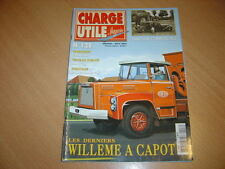 Charge utile N°128 Citroën 11 Commerciale.Willème à capot.Bouglione.Manitou