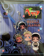 Hetalia Axis Powers Screen Wiper Phone Straps Japan and Germany NEW
